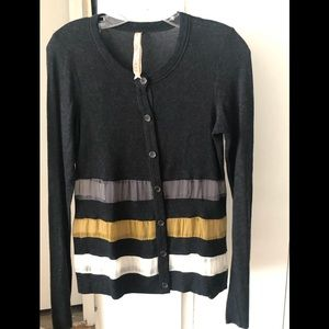 Bailey 44 sheer stripe cardigan